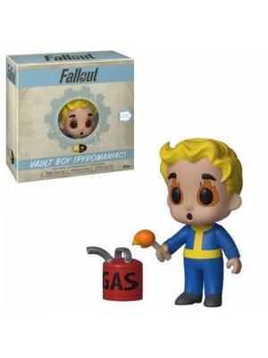 """ІГРАШКА Фігурка, Вінілова  Funko 5 Star """"Fallout""""   Vault Boy : Піроман, FUNKO США"""