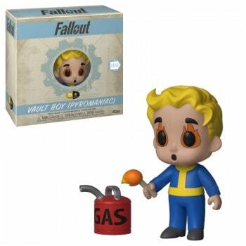 "ИГРУШКА Фигурка, Виниловая Funko 5 Star ""Fallout"" Vault Boy: пироман, FUNKO США"