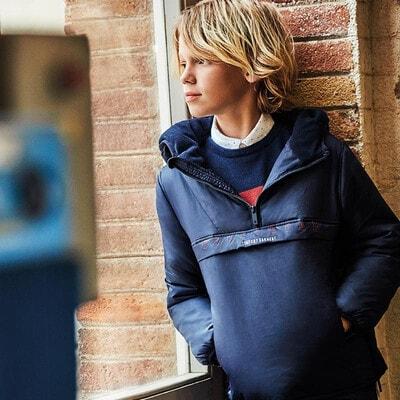 Куртка, з капюшоном, Темно-синій, Mayoral Іспанія, 21OZ