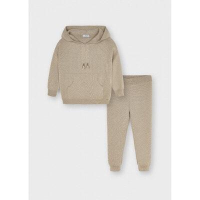 Комплект, Пуловер + штани, Бежевий, Mayoral Іспанія, 22OZ