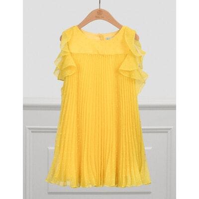 Сукня, в складочку, Жовтий, Abel & lula Іспанія, 21VL