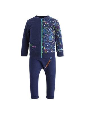 Комплект Спортивний, Кофта + штани  (find me), Синій, TucTuc Іспанія, 20OZ
