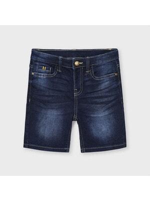 Шорти, джинсові, Темно-синій, Mayoral Іспанія, 21VL