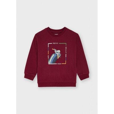 Пуловер, утеплений, Бордовий, Mayoral Іспанія, 22OZ