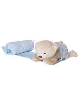 Аксессуары, поддерживающая подушка с мягкой игрушкой, Голубой, Mayoral Испания, 19OZ