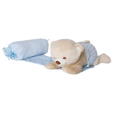 Аксесуари, Підтримуюча подушка з м'якою іграшкою, Блакитний, Mayoral Іспанія, 19OZ