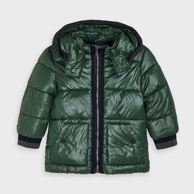 Куртка, з капюшоном, Зелений, Mayoral Іспанія, 21OZ
