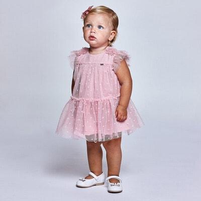 Платье, Розовый, Mayoral Испания, 21VL
