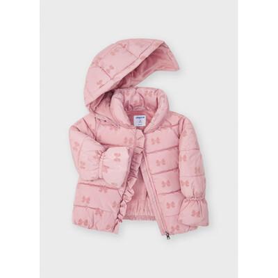 Куртка, з капюшоном, утеплена, Рожевий, Mayoral Іспанія, 22OZ