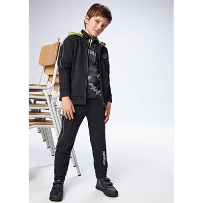 Комплект Спортивний, Кофта + штани, Чорний, Mayoral Іспанія, 22OZ