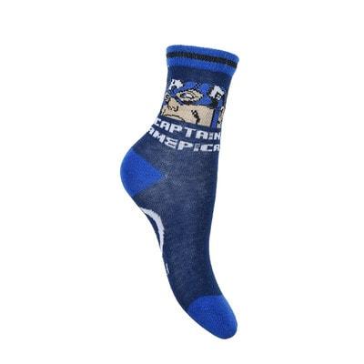 Шкарпетки, 3 пари, AVENGERS, Синій, Sun City Франція, 21OZ