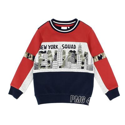 Пуловер, NEW YORK SQUAD, Синій, PRIMIGI Італія, 22OZ