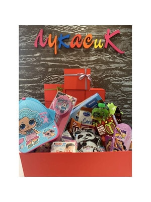 ІГРАШКА Набір, Lukasik Box для дівчинка, Lukasik Україна