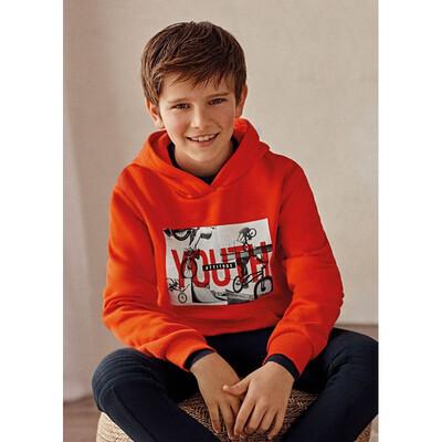 Пуловер, з капюшоном, утеплений, Помаранчевий, Mayoral Іспанія, 22OZ