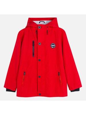 Куртка, з капюшоном, Червоний, Mayoral Іспанія, 20VL