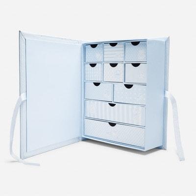 Аксесуари, Коробка для сувенірів новонародженого (перший зуб, перше волосся, перші носочки) та інші памятні речі., Блакитний, Mayoral Іспанія, 20OZ