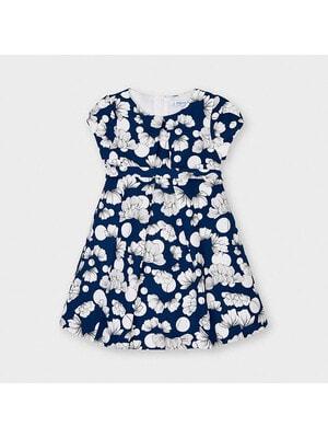 Сукня, в білих квітах, Синій, Mayoral Іспанія, 21VL