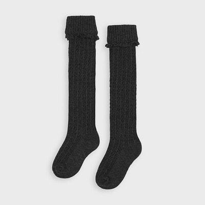 Шкарпетки, Гольфи, Темно-сірий, Mayoral Іспанія, 21OZ