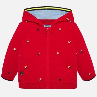 Кофта, з капюшоном, Червоний, Mayoral Іспанія, 20VL