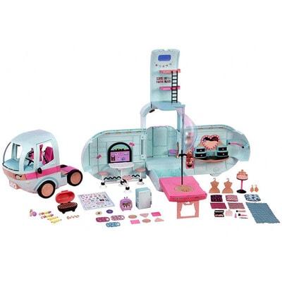 ИГРУШКА Набор, LOL-SURPRISE-Гламурный Кемпер (кукла, аксессуары), MGA США