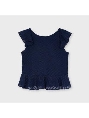 Блуза, Темно-синій, Mayoral Іспанія, 21VL