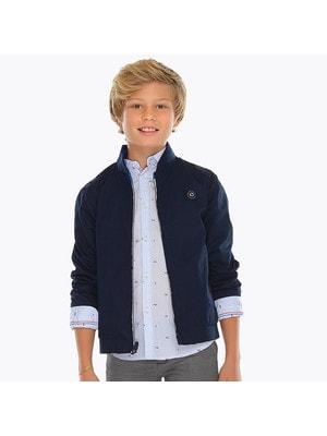 ОДЯГ Хлопчик Верхній Куртка, двостороння, Синій, Mayoral Іспанія, 19VL