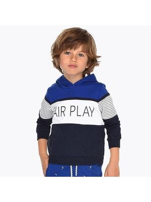 Пуловер, Fair Play, Синій, Mayoral Іспанія, 19VL