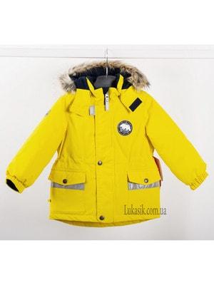 Куртка, WALTER, Жовтий, Lenne Естонія, 20OZ