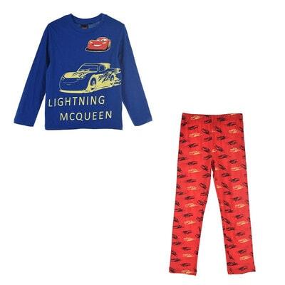 Піжама, серія Disney  CARS Джемпер + червоні штани (світиться у темряві), Синій, Sun City Франція, 21OZ