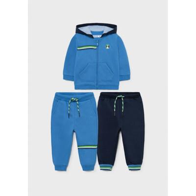 Комплект Спортивний, Кофта + штани 2 шт., утеплений, Синій, Mayoral Іспанія, 22OZ