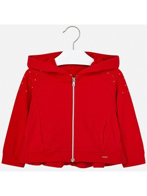 Кофта с капюшоном, Красный, Mayoral Испания, 20VL