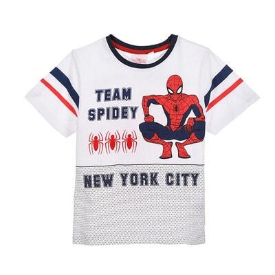Футболка, SPIDER-MAN, Белый, Sun City Франция, 20VL