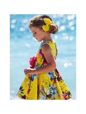Сукня, в квітах, Жовтий, Abel & lula Іспанія, 21VL