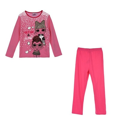 Піжама, серія Disney  L.O.L. SURPRISE! Джемпер + рожеві штани  (світиться у темряві), Сірий, Sun City Франція, 21OZ