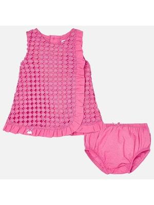 Сукня, + труси, Рожевий, Mayoral Іспанія, 19VL