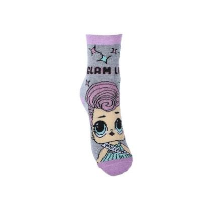 Шкарпетки, з АБС   LOL SURPRISE!, Сірий, Sun City Франція, 21OZ