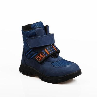 Чобітки, (помаранчевим 34), Синій, My Mini Orhopedic Туреччина, 21OZ
