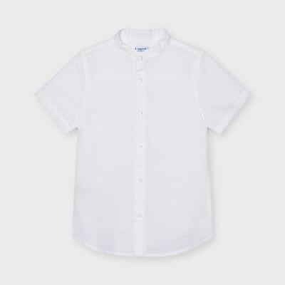 Сорочка, короткий рукав, Білий, Mayoral Іспанія, 21VL