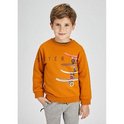 Пуловер, утеплений, Бурштиновий, Mayoral Іспанія, 22OZ