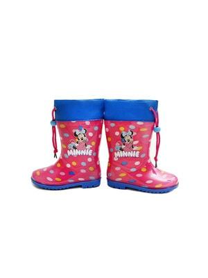 Чобітки, гумові в горох Minnie Mouse, Рожевий, Disney Польща, 20VL