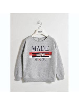Пуловер, MADE OF SOUL, Сірий, iDO Італія, 19VL