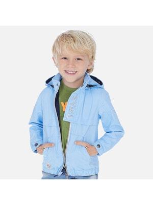 Куртка, з капюшоном, Блакитний, Mayoral Іспанія, 20VL