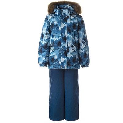 Комплект, Куртка  + напівкомбінезон DANTE 1, Cиній, HUPPA Естонія, 21OZ