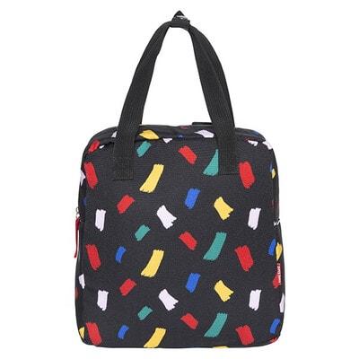 Рюкзак  (рожеві, червоні, жовті плями), Чорний, TucTuc Іспанія, 20OZ