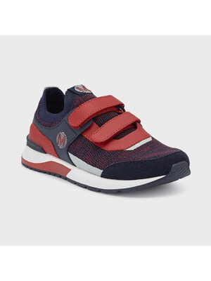 Кросівки, з червоними вставками, Темно-синій, Mayoral Іспанія, 21VL