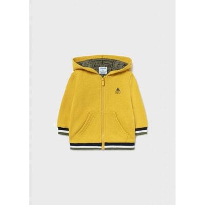 Кофта, з капюшоном, утеплена, Жовтий, Mayoral Іспанія, 22OZ