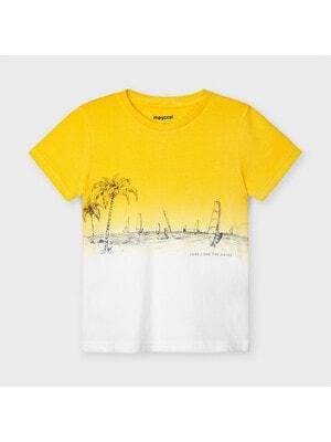 Футболка, Желтый, Mayoral Испания, 21VL