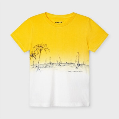 Футболка, Жовтий, Mayoral Іспанія, 21VL