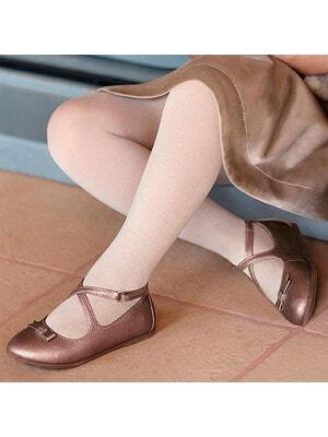 Туфлі, з блиском, Рожевий, Mayoral Іспанія, 21OZ