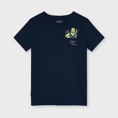 Футболка, Темно-синій, Mayoral Іспанія, 21VL
